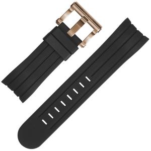TW Steel Horlogebandje TW131 TW606 Zwart Rubber 24mm
