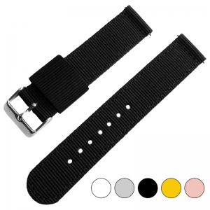 Black Two Piece RAF NATO Nylon Strap