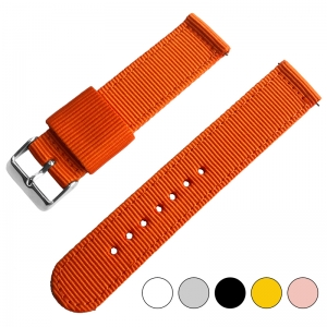 Orange Two Piece RAF NATO Nylon Strap