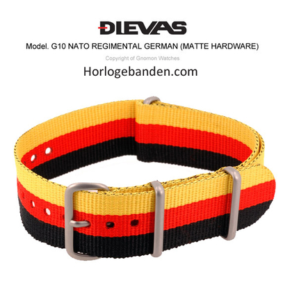 Germany NATO G10 Military Nylon Strap - MATTE