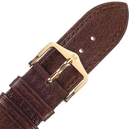 Hirsch Camelgrain Horlogebandje No Allergy Bruin