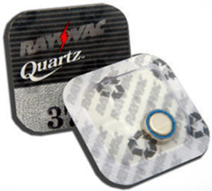 Rayovac 371 Horlogebatterij / SR920SW Zilver-Oxide 1,55V