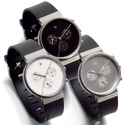 Jacob Jensen horlogeband 600, 601, 602 rubber 19mm