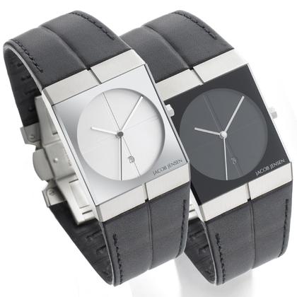 Jacob Jensen horlogeband 230 en 232 leer