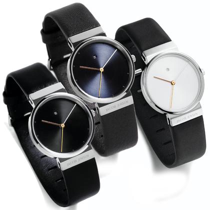 Jacob Jensen horlogeband 850, 851, 852 leer 17mm