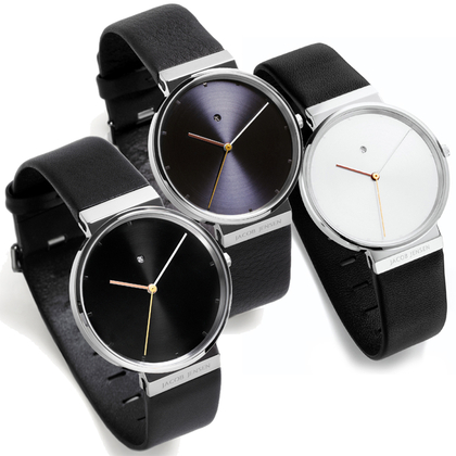 Jacob Jensen horlogeband 840, 841, 842 leer 19mm