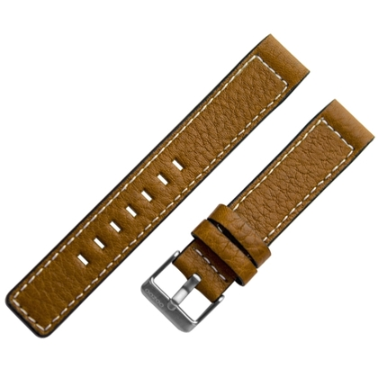 OOZOO Horlogebandje Cognac Leer