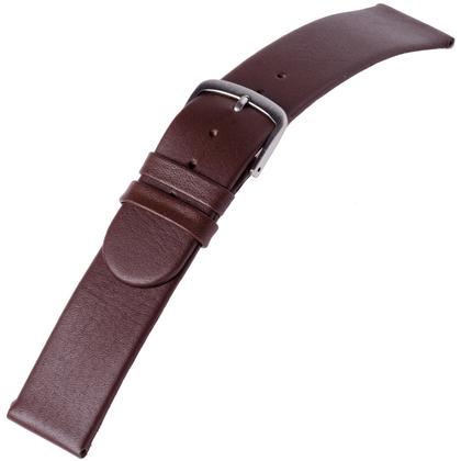 a.b.art Horlogeband serie K/KL/KLD Donkerbruin 18 en 20 mm