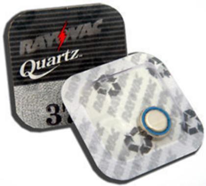 Rayovac 396/397 Horlogebatterij / SR726SW Zilver-Oxide 1,55V