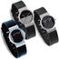 Jacob Jensen horlogeband 722, 740, 741, 742, 743 rubber 17mm