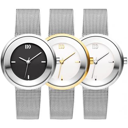 Danish Design Horlogeband IV62Q1060, IV63Q1060, IV65Q1060 geweven staal