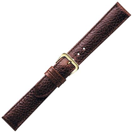Donkerbruin Horlogebandje Buffelkalf