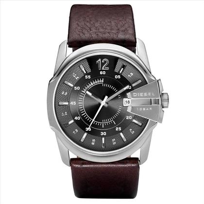 Diesel DZ1206 Horlogeband Bruin Leer