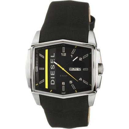 Diesel DZ1340 Horlogeband Zwart Leer