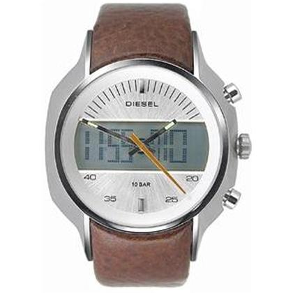 Diesel DZ4038 Horlogeband Bruin Leer