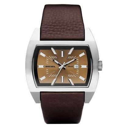 Diesel DZ1114 Horlogeband Bruin Leer