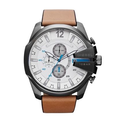 Diesel DZ4280 Horlogeband Bruin Leer