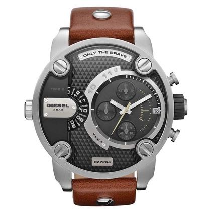 Diesel DZ7264 Horlogeband Bruin Leer