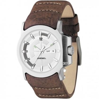 Diesel DZ4037 Horlogeband Bruin Leer
