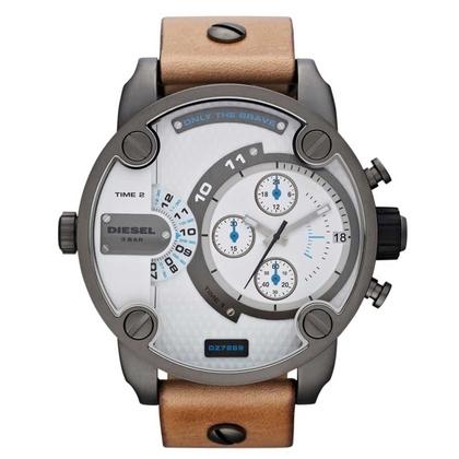 Diesel DZ7269 Horlogeband Cognac Leer