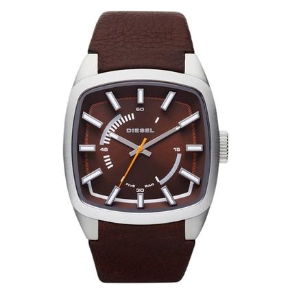 Diesel DZ1528 Horlogeband Bruin Leer