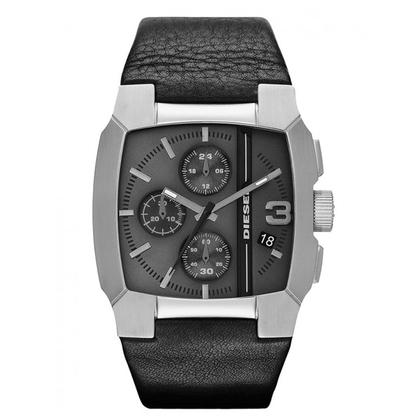 Diesel DZ4275 Horlogeband Zwart Leer