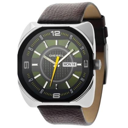 Diesel DZ1119 Horlogeband Bruin Leer