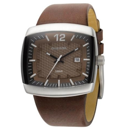 Diesel DZ1204 Horlogeband Bruin Leer