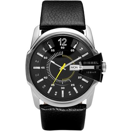 Diesel DZ1295 Horlogeband Zwart Leer