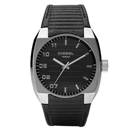 Diesel DZ1393 Horlogeband Zwart Leer