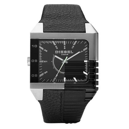 Diesel DZ1397 Horlogeband Zwart Leer