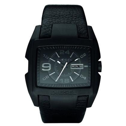 Diesel DZ1430 Horlogeband Zwart Leer