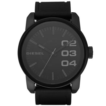 Diesel DZ1446 Horlogeband Zwart Rubber