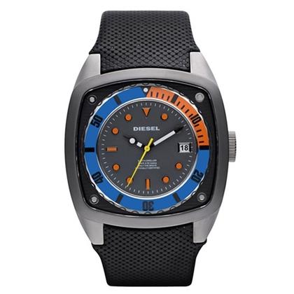 Diesel DZ1490 Horlogeband Zwart Leer
