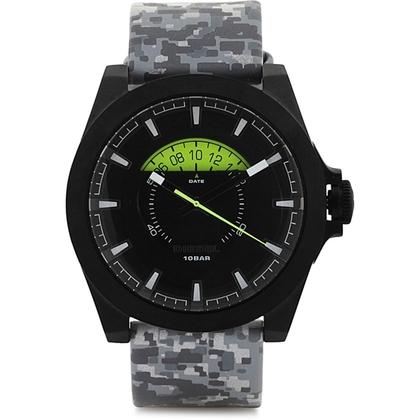 Diesel DZ1658 Horlogeband Grijs Leer
