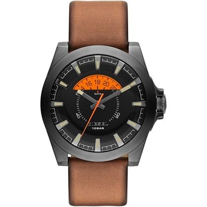Diesel DZ1660 Horlogeband Cognac Leer