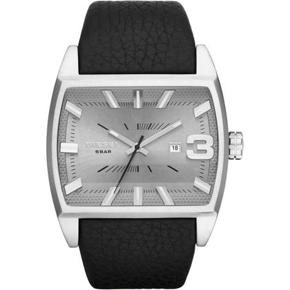 Diesel DZ1674 Horlogeband Zwart Leer