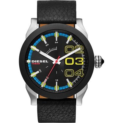 Diesel DZ1677 Horlogeband Zwart Leer