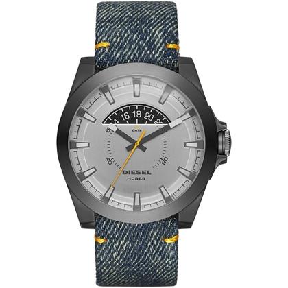 Diesel DZ1689 Horlogeband Denim Blauw Leer