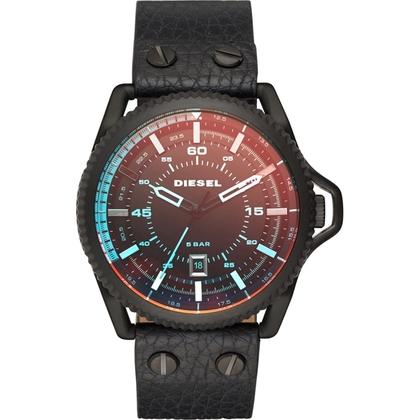 Diesel DZ1793 Horlogeband Zwart Leer