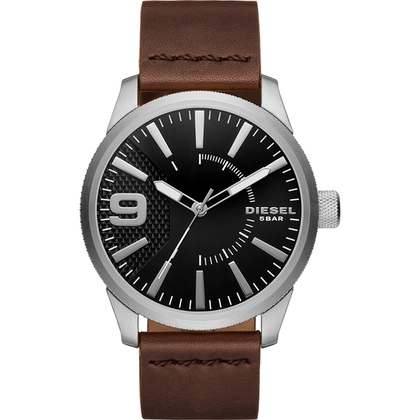 Diesel DZ1802 Horlogeband Bruin Leer