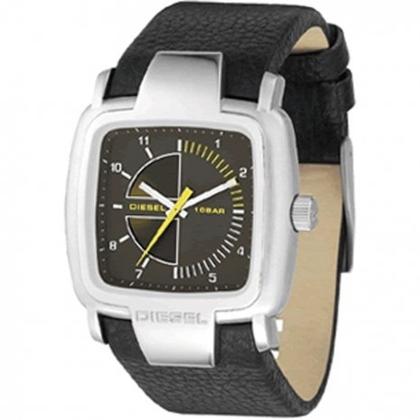Diesel DZ4032 Horlogeband Zwart Leer