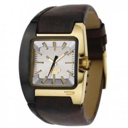Diesel DZ4081 Horlogeband Bruin Leer