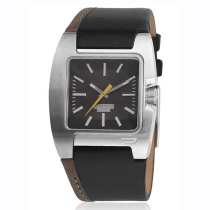 Diesel DZ4083 Horlogeband Zwart Leer