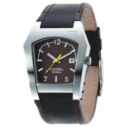 Diesel DZ4100 Horlogeband Bruin Leer