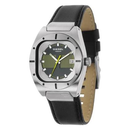 Diesel DZ4113 Horlogeband Zwart Leer