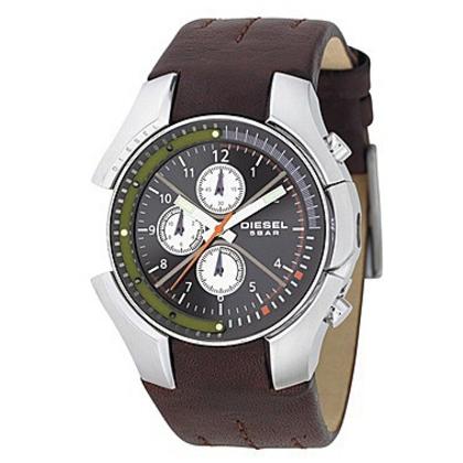 Diesel DZ4128 Horlogeband Bruin Leer