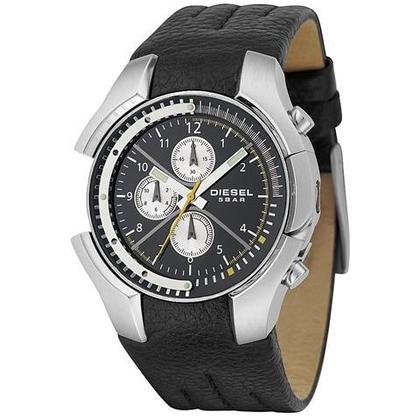 Diesel DZ4146 Horlogeband Zwart Leer