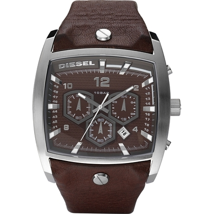 Diesel DZ4184 Horlogeband Bruin Leer