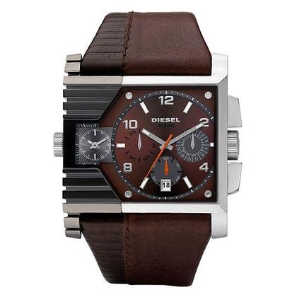 Diesel DZ4186 Horlogeband Bruin Leer